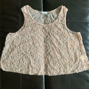 NWT Free People Lace Tank Top